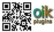 oik QR code sticker