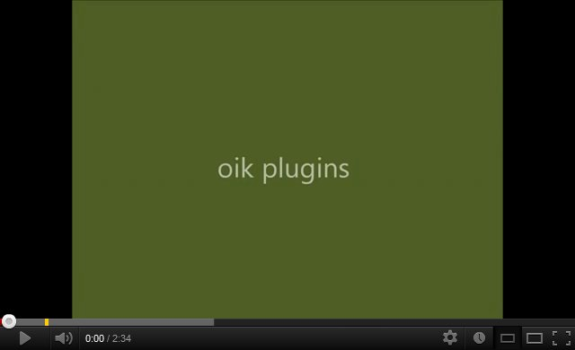 oik plugins – an introduction