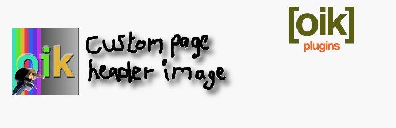 oik-header – custom header image