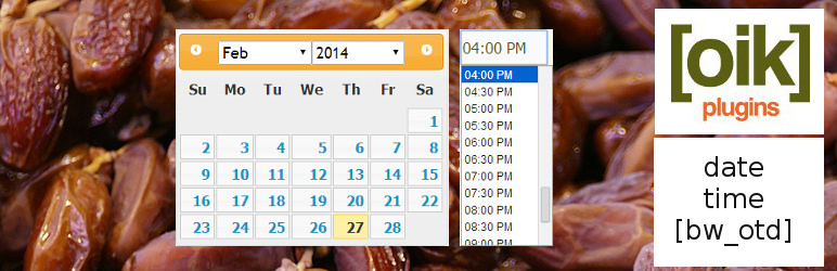 oik-dates – custom date and time fields