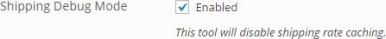 "How do I fix the ""No shipping methods were found"" message?"